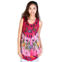 Digital Printed Rayon Batik Dress