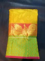 Wedding Wear And Festive Wear Ladies Pure Silk Saree