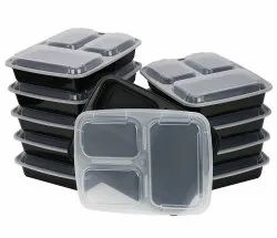 3 Sections Food Packaging Container