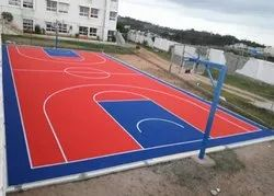 Basketball Court Construction Service, in On Site