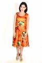 Seona Printed Umbrella Dress