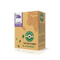 The Tea Planet - Garden Fresh CTC Assam Chai Lavender  Flavored with Milk