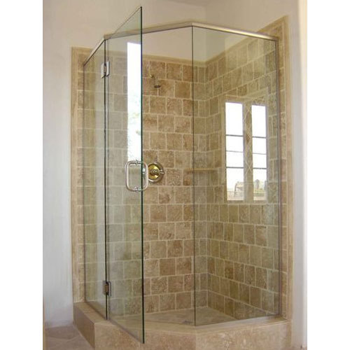 Bathroom Shower Cubicle Toughened Glass