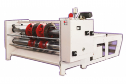 Combined Rotary Creaser Slotter Machine