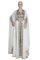 Traditional Algerian Full Length Jacket Overcoat For Ladies
