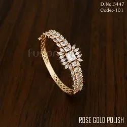 Rose Gold Cubic Zircon Bracelet