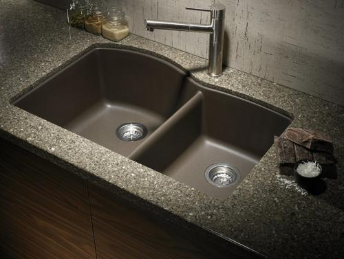 Parryware And Hindware Cream Glossy Kitchen Sink Granite
