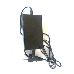 ABS Plastic Black AC Current Adapter, Voltage: 120-240 V