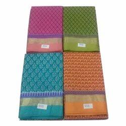 Digital Print Casual Wear Gadwal Printed Ladies Saree