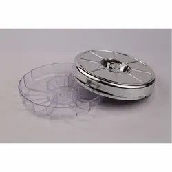 Mini Greeting Silver Plating Dry Fruit Box