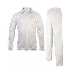 ab9e5c101514 JEE White Mens Cricket Uniform
