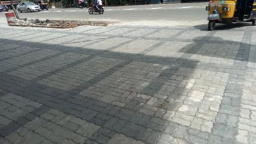 Zig Zag Interlocking Paver, For Floor, Rs 55 \/square feet, Kap India Brick And Tiles Private