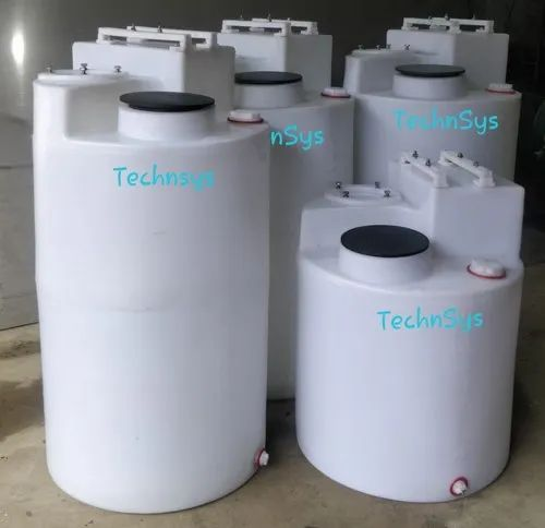 TechnSys Chemicals/Oils Chemical Dosing Tanks, 5 Mm, Storage Capacity: 60,100 Ltrs