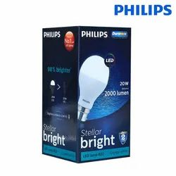 Round 20 W 20W Philips LED Bulb