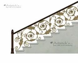 Staircase railing designs