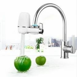 Silver Stainless Steel Kitchen & Water Purifier Faucet Tap
