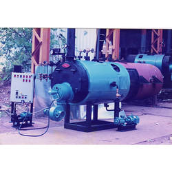 3 Pass Wet Back Gas IBR Steam Boiler