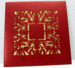 Laser Wedding Card 2161
