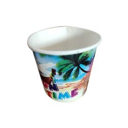Disposable Printed Paper Cup, Packaging Type: Packet, Capacity: 110 ml