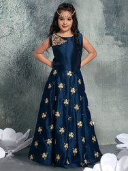 Designer Heavy Kids Gown