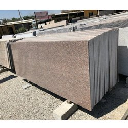 Cherry Brown Granite Slab, Thickness: 15-20 Mm