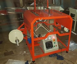 SEW Mild Steel Mini Rewinding Machine, Production Capacity: 80 Meter / Minutes