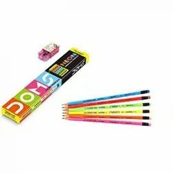 Doms Neon Rubber Tipped Pencil