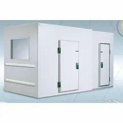 Freezer Room And Cold Door