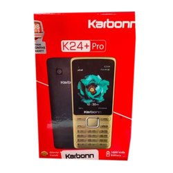 K24 Plus Pro Karbonn Mobile, Memory Size: 32GB, 0.3MP