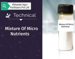Mix Micronutrients Edta Gr Ii (Chelated Foliar Zn 3%, Cu 1%, Fe 2.5%, Mn 1%, b 0.5%, Mo 01%)