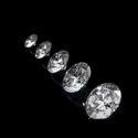 Top White Round DEF Moissanite Diamond