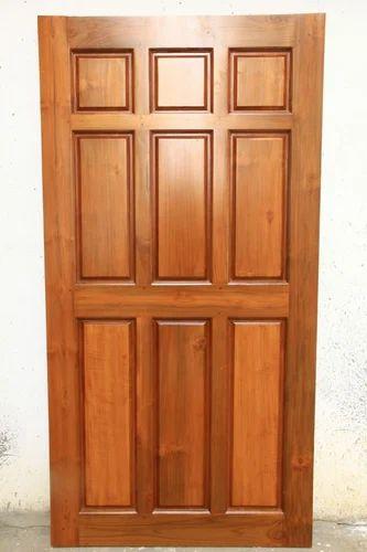 Burma Teak Wood Door Bt101 Sizedimension 7 X 35 Feet Rs 46000