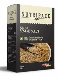 Nutripack Roasted Sesame Seeds, Packaging Size: 100g