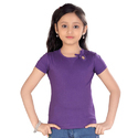 Girls Purple Top