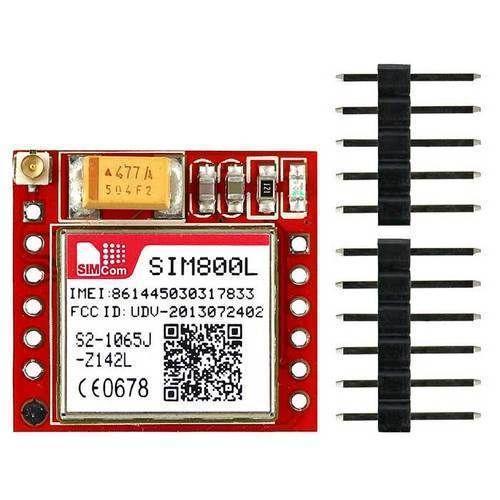 Simcom GSM GPRS Module - SIM800A Quad Band GSM & GPRS Serial