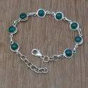 Golden Sun Sitara Gemstone 925 Sterling Handmade Bracelet
