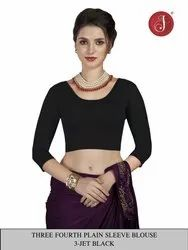 Jelite Cotton Lycra Stretchable Saree Blouse