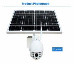 Solar CCTV Camera For School