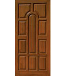 Trendy Wooden Door
