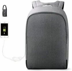 Anti Theft Corporate Gift Waterproof Backpack Bag with USB Charge for Cash, Document & more