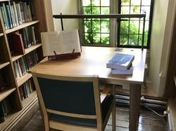 Library Table Made