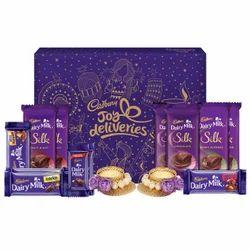 Cadbury Assorted Chocolates Diwali Gift Packs, 530 gm - With Tea Light Inside