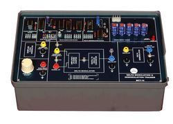 Delta Modulation Demodulation Trainer