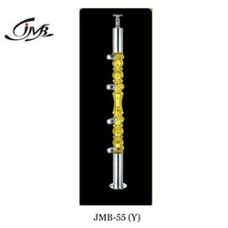 Yellow Acrylic Designer Railing Baluster