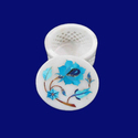 Marble Handmade Round Boxes