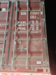 20ft Marine Container