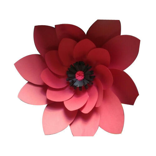 Paper flower kagaz ke phool harivrund paper craft arts anand paper flower mightylinksfo
