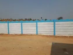 Industrial Boundary Compound Wall