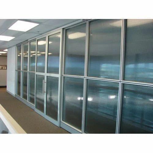 Aluminum Sliding Door Partition