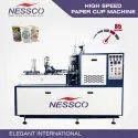 Nessco High Speed Paper Cup Machine